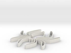 spinknoet in White Natural Versatile Plastic