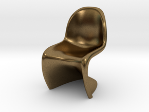 Panton Chair Scale 1/10 (10%) in Natural Bronze