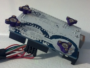 #4-40 Magnetic Standoffs (Arduino Ready!) in Purple Strong & Flexible Polished
