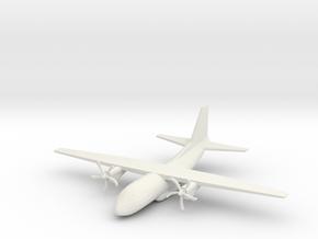 1/285th (6mm) C-27 Spartan in White Natural Versatile Plastic