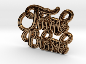 Think Black in Polished Brass