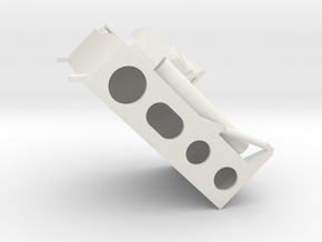 14-Simple MESA in White Natural Versatile Plastic