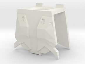 MJOLNIR/R Chest-Armor in White Natural Versatile Plastic