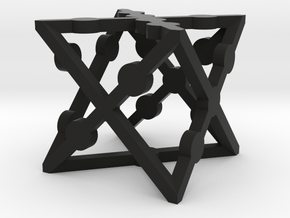 xCube Dice (1 Die) in Black Strong & Flexible
