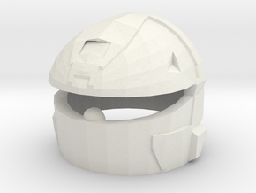 MJOLNIR VI(A) Rogue Helmet in White Natural Versatile Plastic