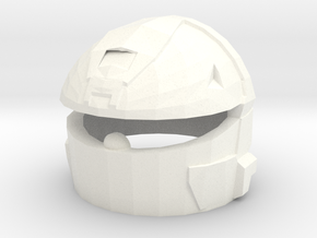 MJOLNIR VI(A) Rogue Helmet in White Strong & Flexible Polished