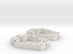 Axle Support Frame in White Strong & Flexible