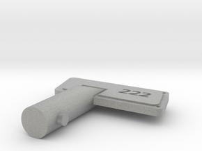 key in Metallic Plastic
