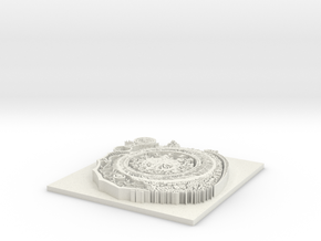 Shapeways Image Popper in White Natural Versatile Plastic
