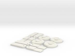 Hs7u651d27kuphrovbpoivtkn5 46245131.stl in White Strong & Flexible