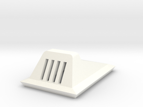1/48 O Scale Hoth Landing Light  in White Processed Versatile Plastic