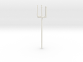 Pitchfork or Trident for Minimates in White Strong & Flexible