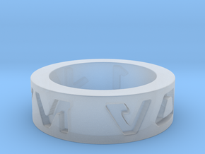 star wars i love you Ring in basic  in Smooth Fine Detail Plastic