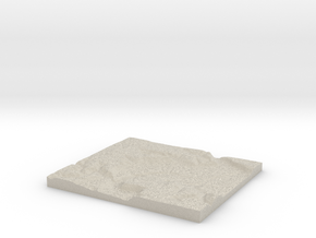 Model of Rapidan in Natural Sandstone