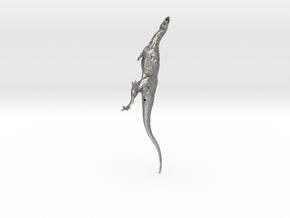 Majunga 172 shapeways 1 in Natural Silver