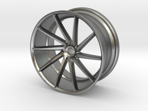 Vossen Mini CVT 25mm 1/24 Scale in Raw Silver