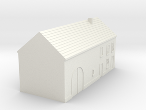 1/350 Barn House 4 in White Strong & Flexible
