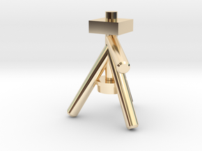 Camera Tripod for Lego Cameras in 14K Yellow Gold