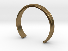 """4/5 Ring """"Victoire"""" in Natural Bronze"""