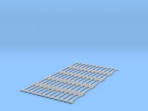 Spur N Kupplungsstange x 60 NEM 1:160 bar coupling in Smooth Fine Detail Plastic