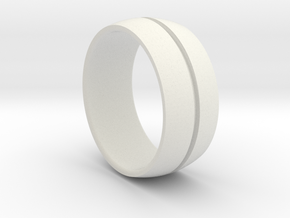 Keller Ring in White Strong & Flexible