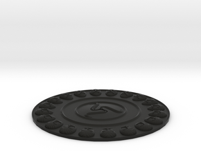 Falera, Celtic ornaments in Black Strong & Flexible