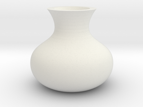 (FLEXTEST) Wilt vase, for those who forget to wate in White Natural Versatile Plastic