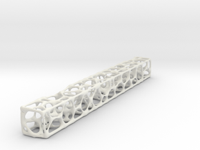 Voronoi mesh in White Natural Versatile Plastic