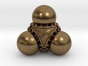 Nucleus D4 in Natural Bronze