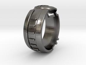 Visor Ring 6.5 in Polished Nickel Steel