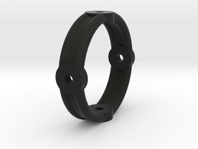 Kardanring2 in Black Natural Versatile Plastic