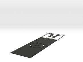 Elemental Bookmark in Black Strong & Flexible