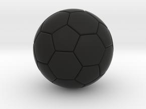 Soccer in Black Strong & Flexible