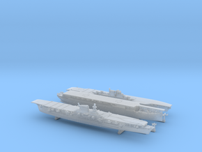 1/3000 Italian Aircraft Carriers in Frosted Ultra Detail