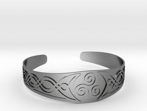 Bracelet Triskel in Polished Silver