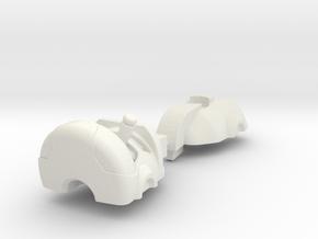 animated erector head kit mk01 in White Natural Versatile Plastic
