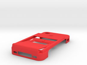 Ultimate Minimalistic Case with bottle opener in Red Strong & Flexible Polished