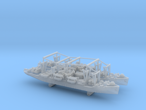 1/2400 US APA Haskell (x2) in Smooth Fine Detail Plastic