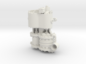 Westinghouse CC  .75 Intake in White Natural Versatile Plastic