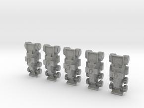 6mm Armadillo v4 in Metallic Plastic
