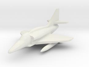 1/285 Scale (6mm) A-4M Skyhawk in White Natural Versatile Plastic