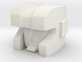 BT -03 HUNT HEAD in White Natural Versatile Plastic