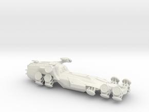 Novalis Matrix hovercraft in White Natural Versatile Plastic