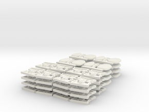 TA 4S avio parts 002 A1 16pcs in White Natural Versatile Plastic