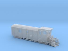 HSB Schneeschleuder LSF 071 Spur H0m (1:87) in Smooth Fine Detail Plastic