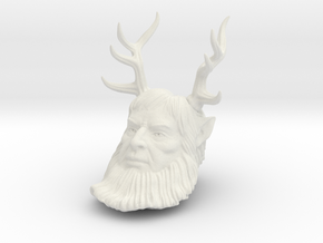 Beelzebub replacement head. in White Natural Versatile Plastic