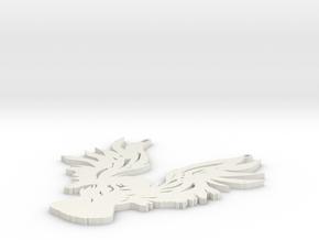 owl pendant in White Strong & Flexible