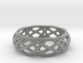 Sine Ring Bulge in Metallic Plastic