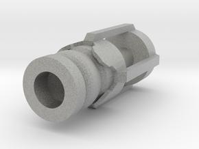Screwdriver   Front 1 in Metallic Plastic