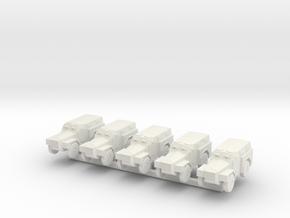 1/300 Humber Pig x 5 in White Natural Versatile Plastic